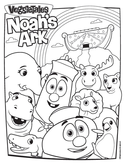 The Ultimate VeggieTales Web Site! » New Coloring Pages for <i ...